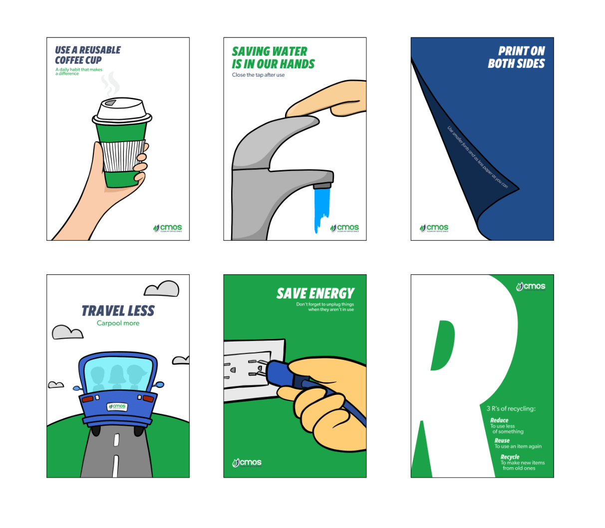 Eco-friendly posters